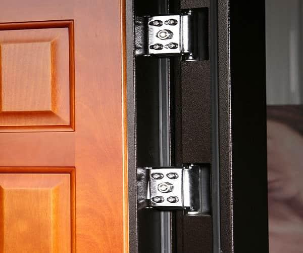 как выбрать металлическую дверь в дом: выбор петель