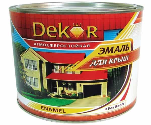 чем покрасить шифер на крыше дома: алкидные эмали