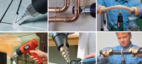 как выбрать строительный фен для домашнего использования