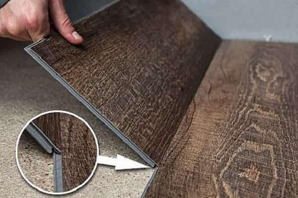 как укладывать кварцвиниловую плитку на пол с замковым соединением