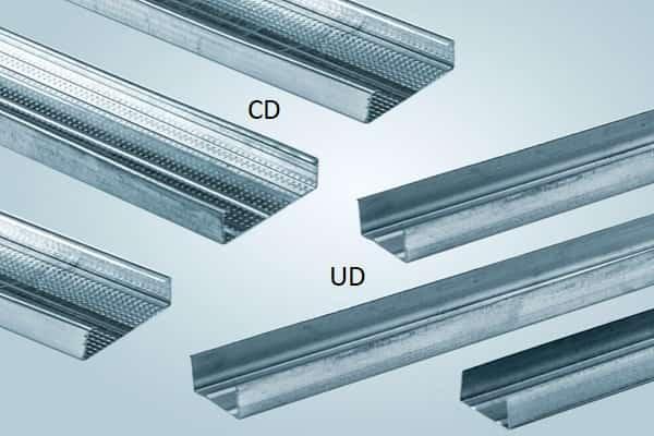 как сделать потолок из гипсокартона своими руками: профиль для металлического каркаса