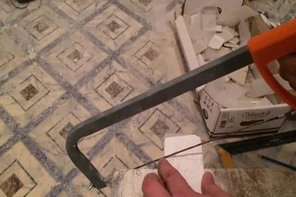 чем резать клинкерную плитку в домашних условиях: особенности использования ножовки по металлу с алмазной струной