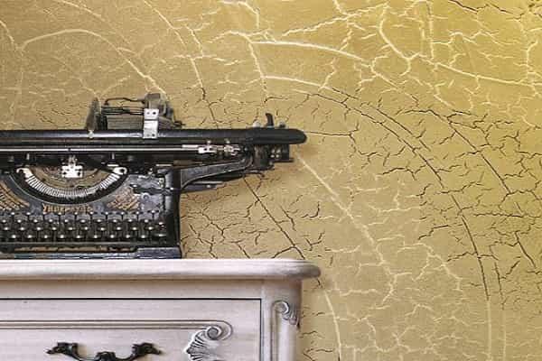 как выбрать декоративную штукатурку для стен: кракелюр и его особенности