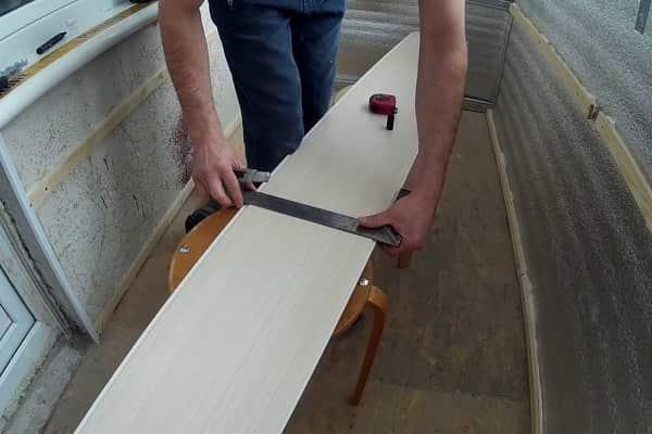 чем резать пластиковые панели в домашних условиях: с использованием ножа