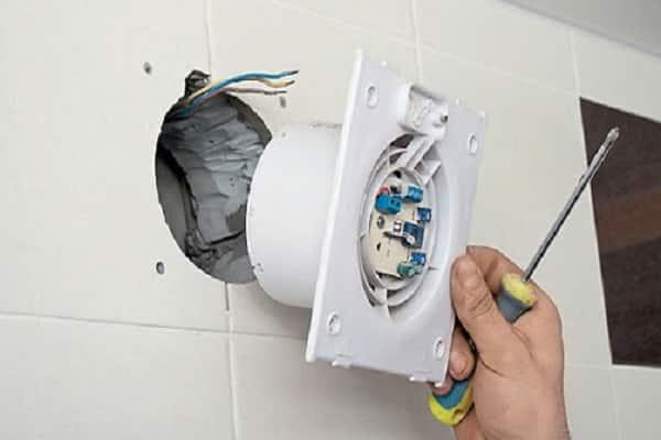 как сделать вентиляцию в ванной комнате: монтаж вытяжного вентилятора