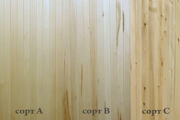 как выбрать вагонку для внутренней отделки дома: подбор сорта