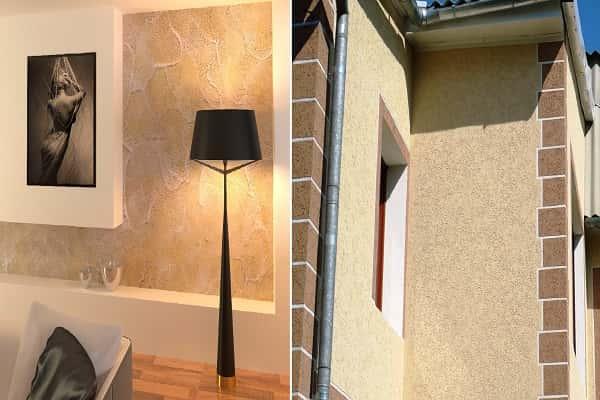 как выбрать декоративную штукатурку для стен: силиконовые составы и их преимущества и недостатки